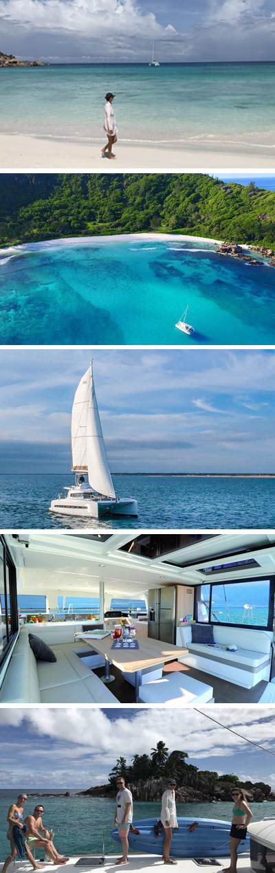 sailing charter in the seychelles